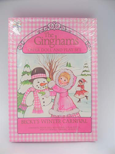 Rainbow Works The Ginghams Paper Doll Play Set Becky's Winter Carnival 1979 NOS Vintage ()