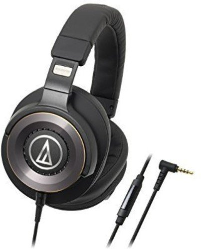 Audio-Technica ATH-WS1100iS Solid Bass Over-Ear Headphones w