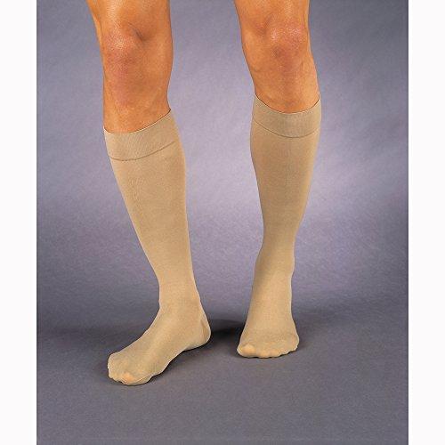 Beige Compression Stocking - JOBST Relief 30-40 mmHg Compression Socks, Knee High, Closed Toe, Beige, Medium