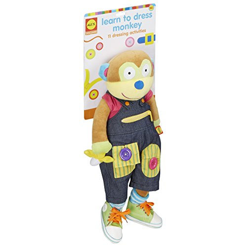 ALEX Toys Little Hands Giant Learn to Dress Monkey ...