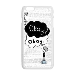 QQQO Okay? Okay Hot Seller Stylish Hard Case For Iphone 6 Plus