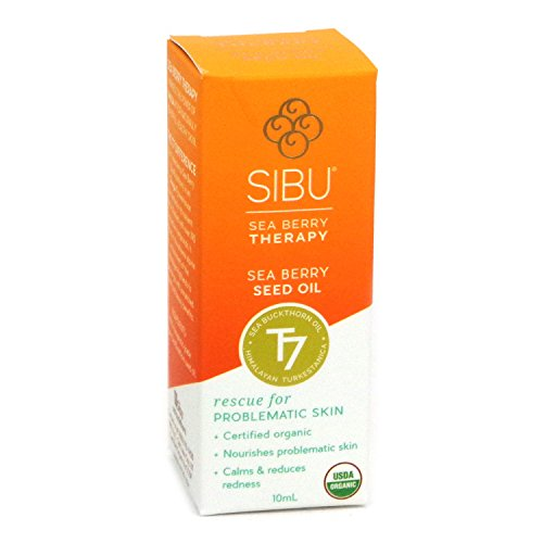 Sibu International Beauty Sea Berry Seed Oil For All Skin Types, 10 Milliliter, 2-Pack