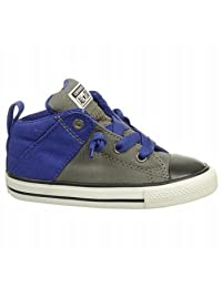 Converse Unisex Baby Chuck Taylor All Star Axel Mid (Inf/Tod) - Charcoal/Blue - 5 Infant