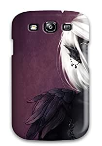 Hot The Black Elf Fantasy Abstract Fantasy First Grade Tpu Phone Case For Galaxy S3 Case Cover by Maris's Diary