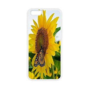 """High Quality {YUXUAN-LARA CASE}Sunflowers in The Sun For Apple Iphone 6,4.7"""" screen STYLE-20"""