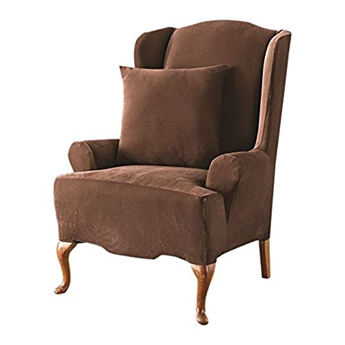 Wing Chair Recliner Furniture Cover Amazon Com