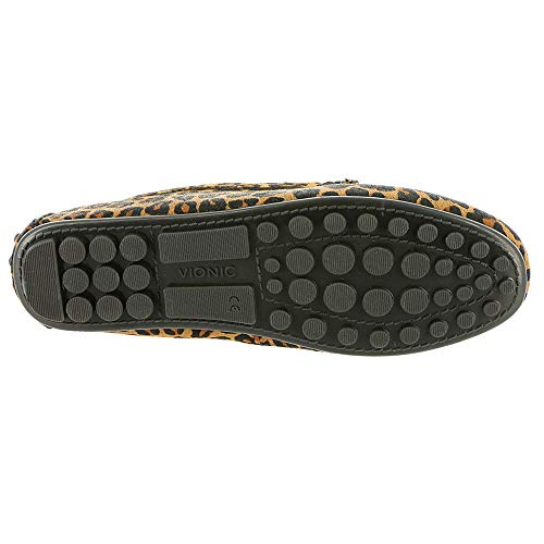 leopard Vionic Shoes Womens Tan Honor Leather Ashby rYaTwgqY