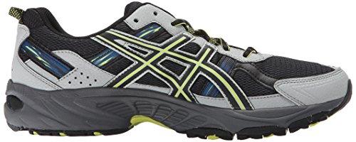 ASICS Neon Men's GEL Steel Black Running Venture Shoe Lime 5 Dark rrCzaRq