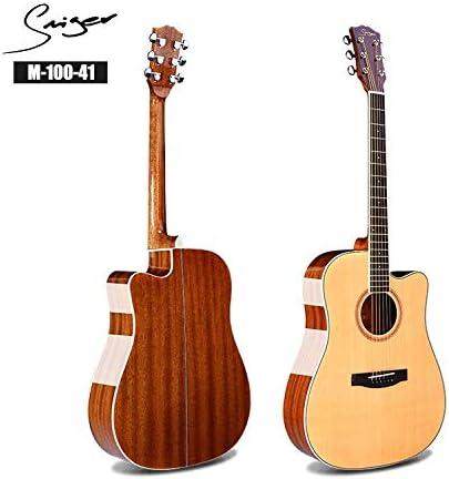 HVTKLN 41インチハイエンドアコースティックギタースプルース合板サペリ光JITA HVTKLN (Color : Log color, Size : 41 inch)