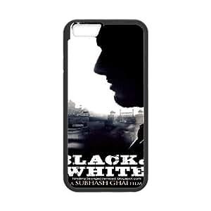 Blanco y negro de alta resolución del cartel iPhone 6S 4.7 pulgadas del teléfono celular funda Negro caja del teléfono celular Funda Cubierta EEECBCAAH76119