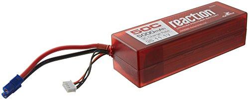 (Dynamite Reaction 11.1V 5000mAh 50C 3S LiPo, Battery, Hardcase: EC3, DYNB3803EC )
