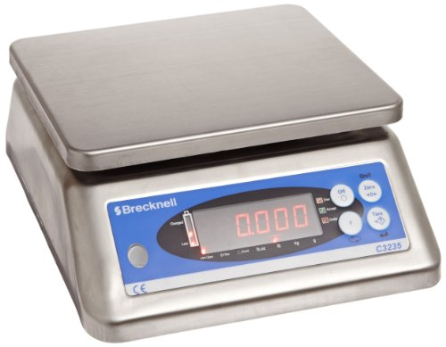 "Salter-Brecknell C3235 Washdown Checkweigher with LED Display, 9"" Width x 7-1/2"" Height, 6lbs Capacity"