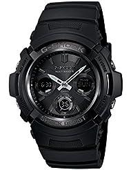 Casio Mens AWGM100B-1A Tough Solar Power Multi-Band Atomic G Shock Watch