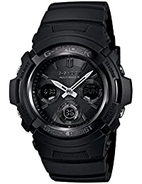 Men's AWGM100B-1A Tough Solar Power Multi-Band Atomic G Shock Watch