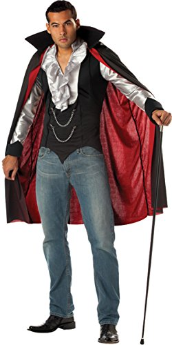 Morris Costumes CC01067MD Cool Vampire Men Md 40-42 (Quick Homemade Halloween Costumes)