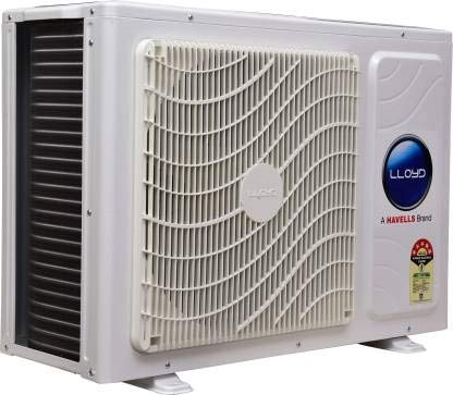 Lloyd 1.0 Ton 5 Star Split Inverter AC - White (LS12I52WBEL, Copper Condenser) 2021 August PM2.5 Air Filter Rapid Cooling - 18 °C in 45 second Cools at 52 °C