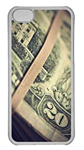 Customized iphone 5C PC Transparent Case - Dollars 2 Personalized Cover
