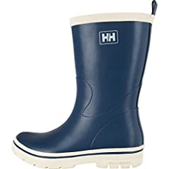 Helly Hansen has produced weather protective gear since 1877, and rubber boots have always been at the core of our business. These Midsund wellies for men effortlessly combine style, comfort and weather protection.