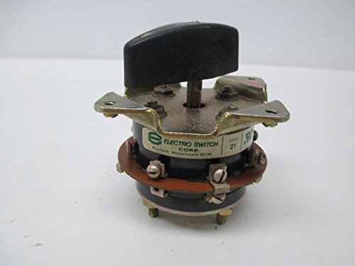 ELECTROSWITCH 21302A ROTARY SWITCH SER 21 120/240/600V-AC 15A AMP D346803 - Electroswitch Rotary Switch