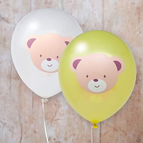 - Hatton Gate Teddy Bear Printed Latex Balloons 8 Balloons per Pack