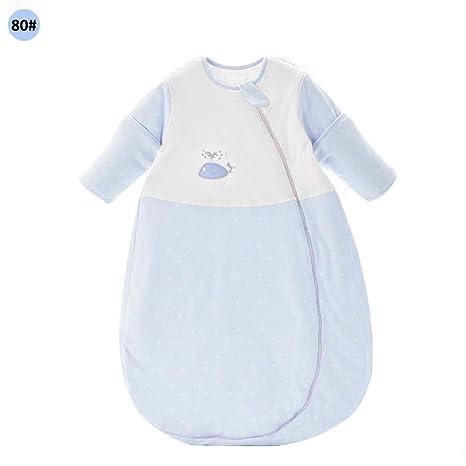 Diuspeed Saco de Dormir para bebé, Puro algodón, Transpirable, antirretorno, Colcha de