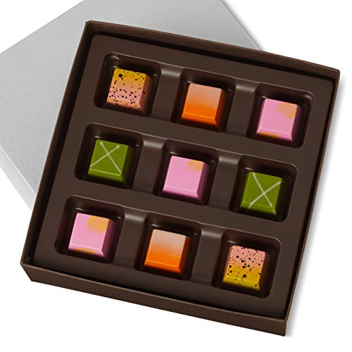 KOHLER Original Recipe Chocolates 9 Piece Spring Collection Refreshing Spring Chocolates in a Dark Chocolate Shell