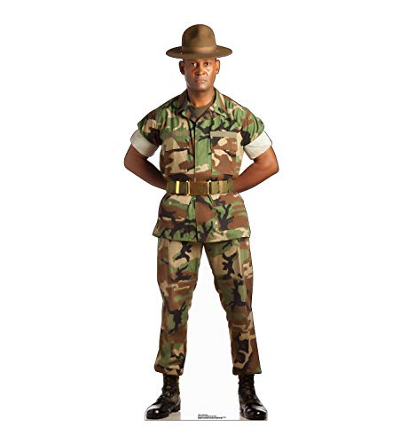 Advanced Graphics Camo Military Man Life Size Cardboard Cutout Standup