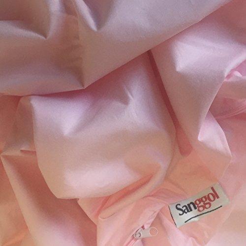 - Pillowcase - Pink for Sanggol Contoured J Pregnancy Body Pillow, Pregnancy Wedge Pillow, J Shaped Maternity Pillow, Nursing Pillow with Zipped Luxurious 100% Cotton Pregnancy Pillow Case ...