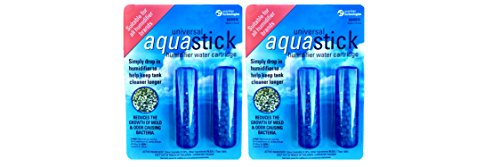 PureGuardian GGHS152PK Aquastick Antimicrobial Humidifier Treatment, Pure Guardian Humidifiers, Fits all Brands, Reduces Mold & Odors, Ultrasonic & Evaporative, Two 2-packs