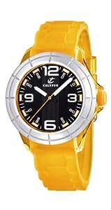 Calypso K5231/5 - Reloj analógico infantil de cuarzo con correa de plástico naranja - sumergible a 50 metros