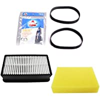 Bissell CleanView Plus Vacuum Cleaner 1 pre-motor & 1 post motor Filter With 2pk Style 7/9/10 Replacement Belts.