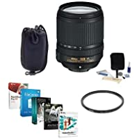 Nikon 18-140mm f/3.5-5.6G ED AF-S DX NIKKOR VR Lens Bundle with UV Filter, USA Warranty & Pro Software