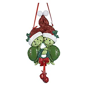Amazon.com: Turtle Couple Christmas Ornament: Home & Kitchen