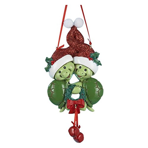 Amazon.com: Turtle Couple Christmas Ornament by Kurt Adler: Home & Kitchen - Amazon.com: Turtle Couple Christmas Ornament By Kurt Adler: Home