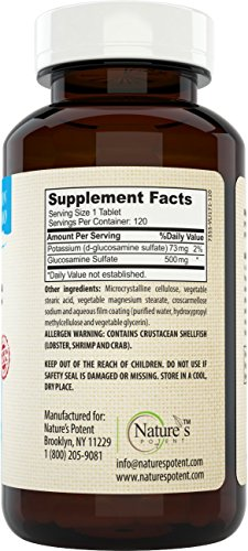 Natures-Potent-Glucosamine-Sulfate-500mg-Joint-Supplement-120-Tablets