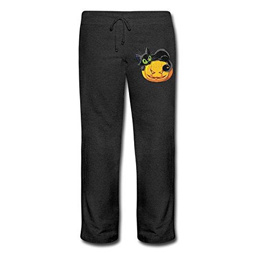 QK Halloween Pumpkin Cat Women's Cool Lounge Sweatpants (Halloween Movies Imdb)