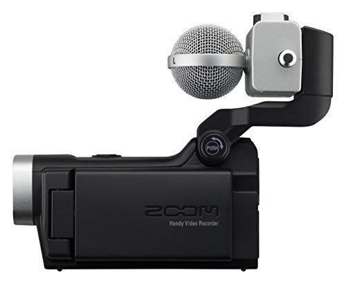 (Zoom Q8 HD Video, 4‑Track Audio Recorder & MSH-6 Mid-Side Microphone Capsule - Bundle)