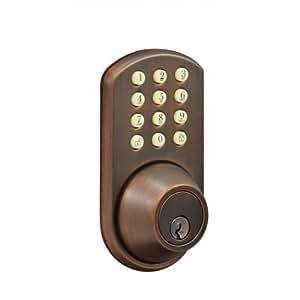 Morning Industry HF-01OB Keypad Deadbolt, Oil Rubbed Bronze