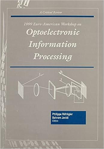 1999 Euro-American Workshop on Optoelectronic Information