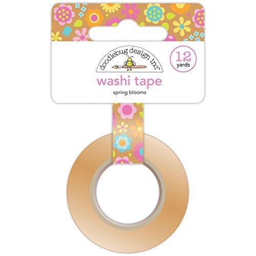 Doodlebug Washi Tape, Tape, Tape, 15mm by 12-Yard, Spring Blooms by DOODLEBUG B0141O2INC   Vorzüglich  4237a9