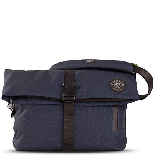 Crumpler Men's The Flock Of Horror Rolltop Shoulder Bag 5L Black, Deep Diver by Crumpler