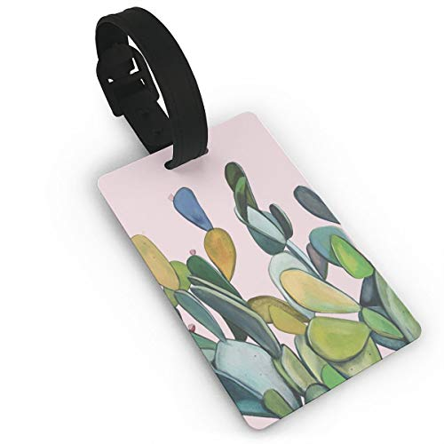 - Cruise Tags Etag Luggage Bag Tags With Adjustable PVC Loop Vibrant Cactus Pink Bags & Baggage Tags Luggage Tags For Women Men - Personalized Suitcase Tag Lables