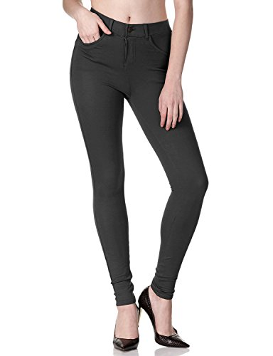 Regna X with Pocket high Rise high Rise Irresistible Black Jeggings for Women M