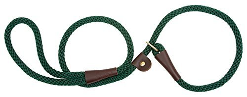 Mendota Products Slip Lead, 1/2 X 4', Hunter Green, Dogs by Mendota Products - Green Dog Lead