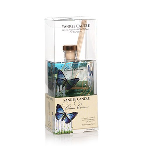 Clean Cotton Signature 3oz Reed Diffuser by Yankee Candle
