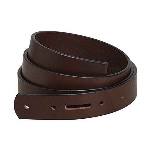 Weaver Leather Belt Blank with Snap Holes and Edge Paint