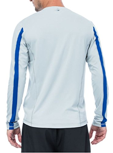 fila-mens-long-sleeve-performance-tee-x-large-heather-gray-royal-blue-stripe