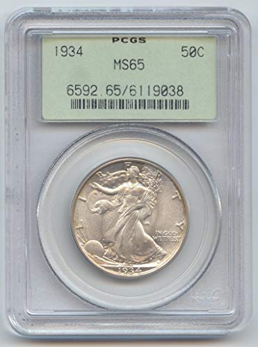 1934 Walking Liberty Half Dollar MS-65 PCGS