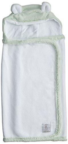 Ritorujirafu Little Giraffe bus wrap - Dealer imports] Luxe hood towel (mint) lg0007-07 by Little Giraffe (Ritorujirafu)