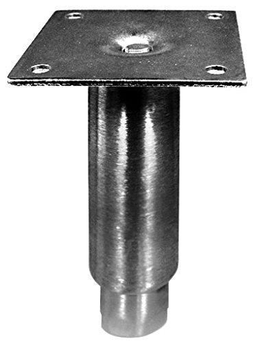 Steel Bullet Foot - Set of 4 Adjustable Stainless Steel Bullet Foot, 5